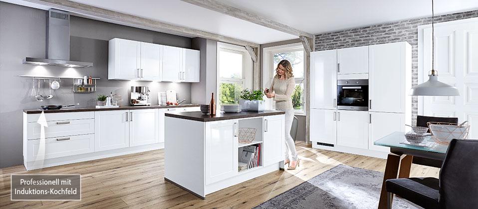 zeitlos und technisch perfekt in der ausstattung haus der k chen. Black Bedroom Furniture Sets. Home Design Ideas