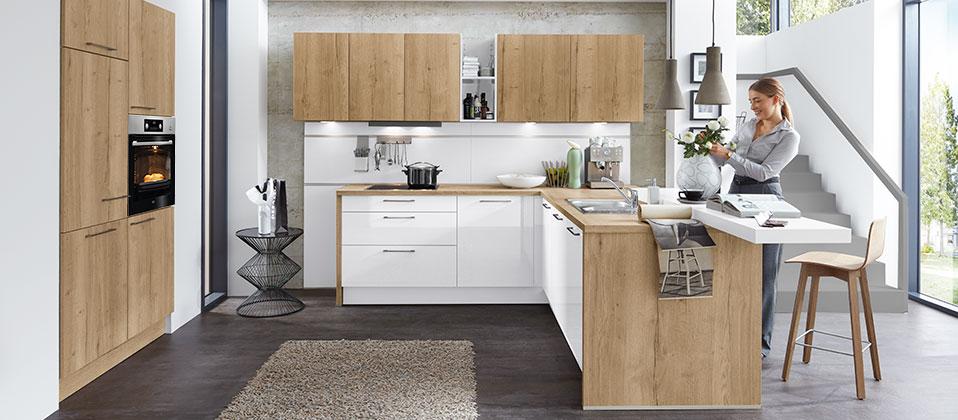 einladend wohnlich harmonisch geplant und technisch perfekt haus der k chen. Black Bedroom Furniture Sets. Home Design Ideas