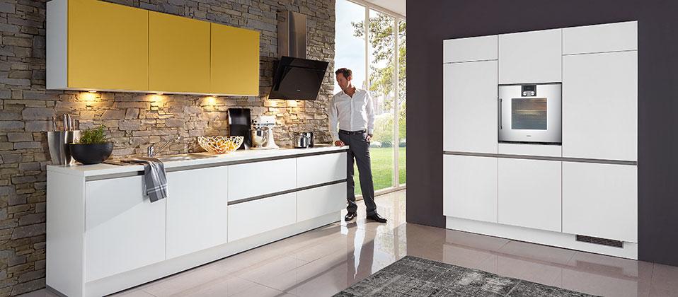 aktuelle designk che haus der k chen. Black Bedroom Furniture Sets. Home Design Ideas