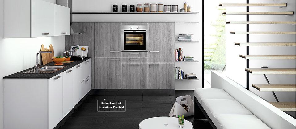 einbauk che mit top ausstattung haus der k chen. Black Bedroom Furniture Sets. Home Design Ideas