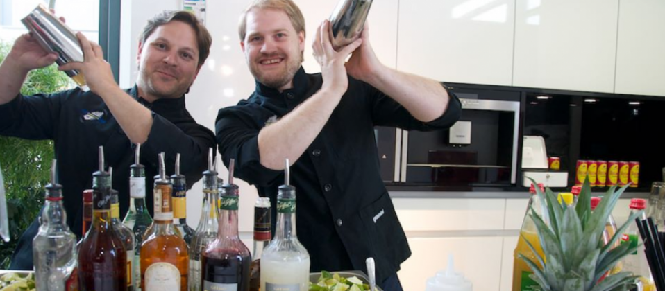 Cocktails für das Haus der Küchen beim Cooking Cup 2015