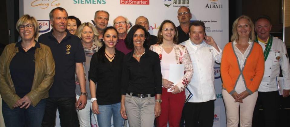 Kochteams und Jury beim Cooking Cup 2015 im Haus der Küchen