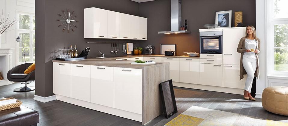 Hochglanz küche erfahrungen  Hochglanz-Küche in eleganter und moderner Optik | Haus der Küchen