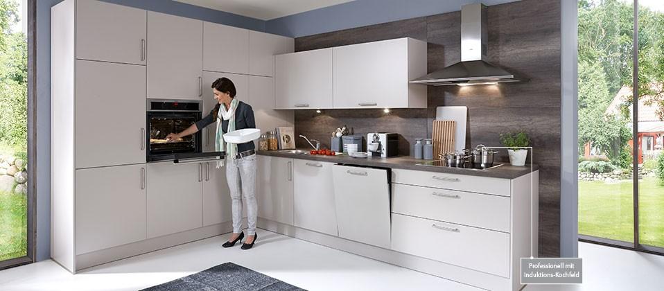 einbauk che mit hervorragender ausstattung haus der k chen. Black Bedroom Furniture Sets. Home Design Ideas