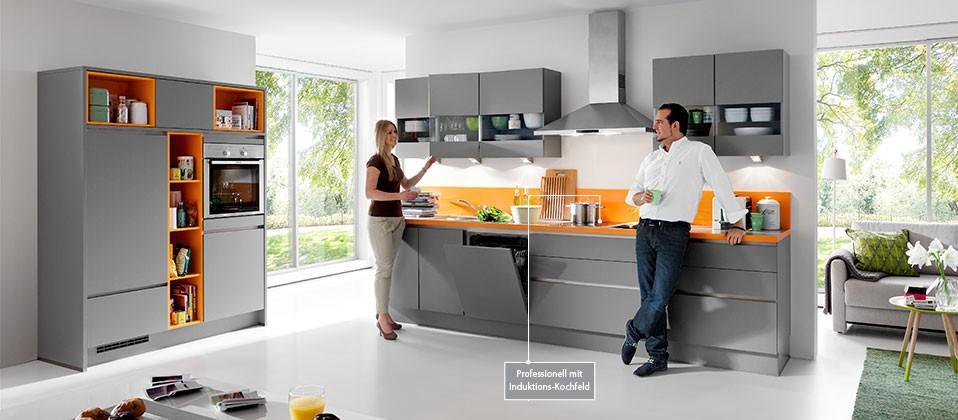 einbauk che in aktuellem design haus der k chen. Black Bedroom Furniture Sets. Home Design Ideas