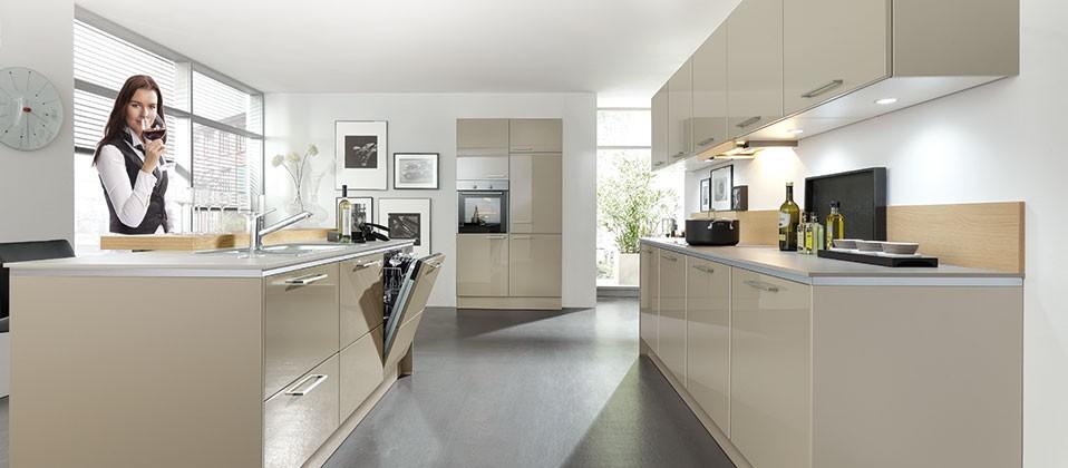 Puristische Einbauküche für Design-Fans | Haus der Küchen